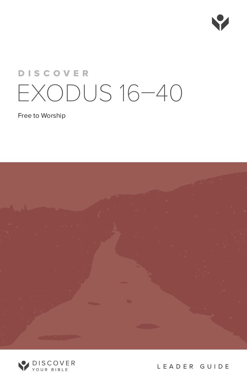 Discover Exodus 16-40 Leader Guide cover image