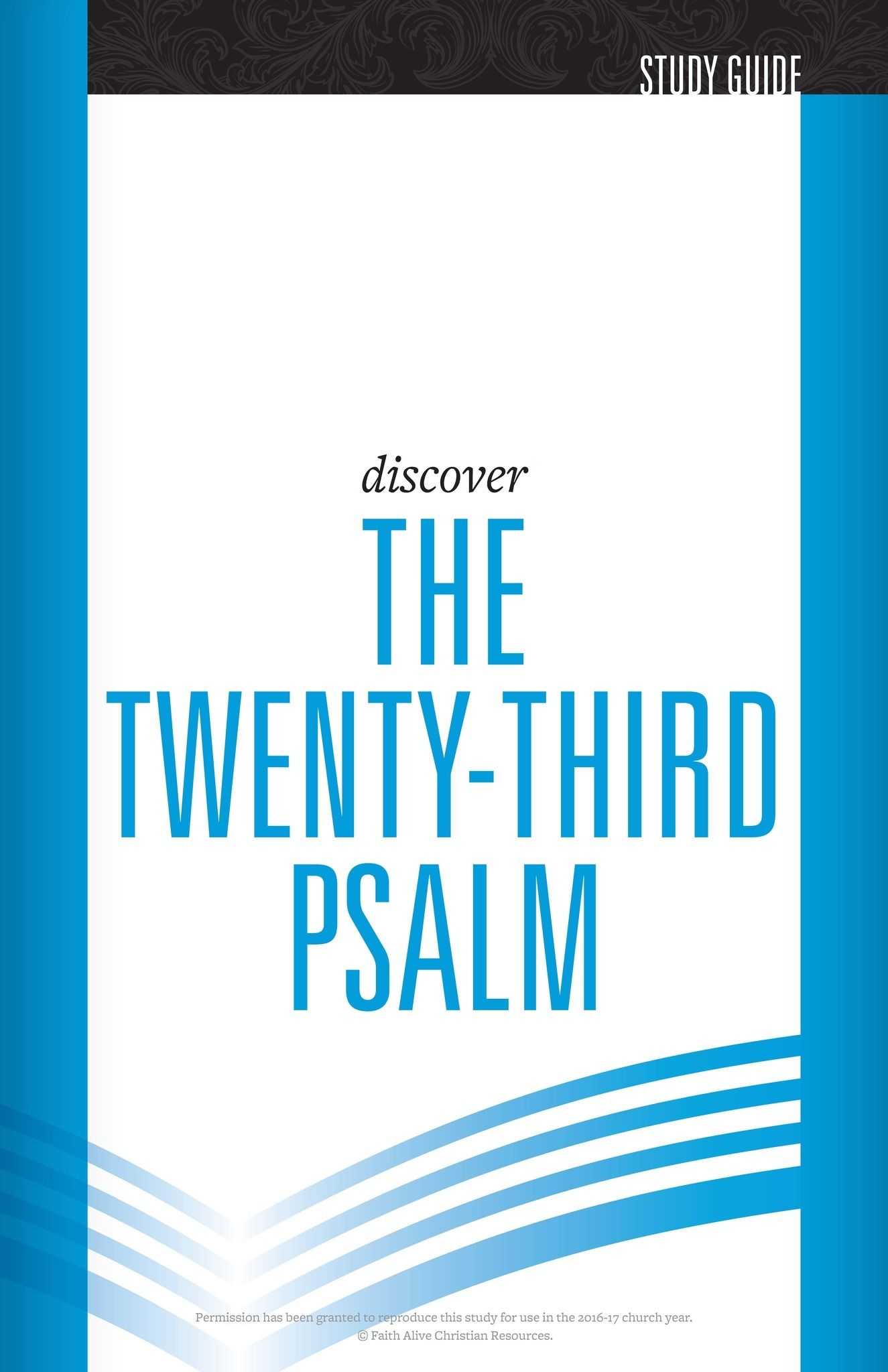 Psalm 23 Cover Image
