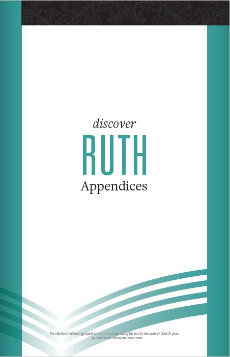 Discover Ruth Appendices cover image