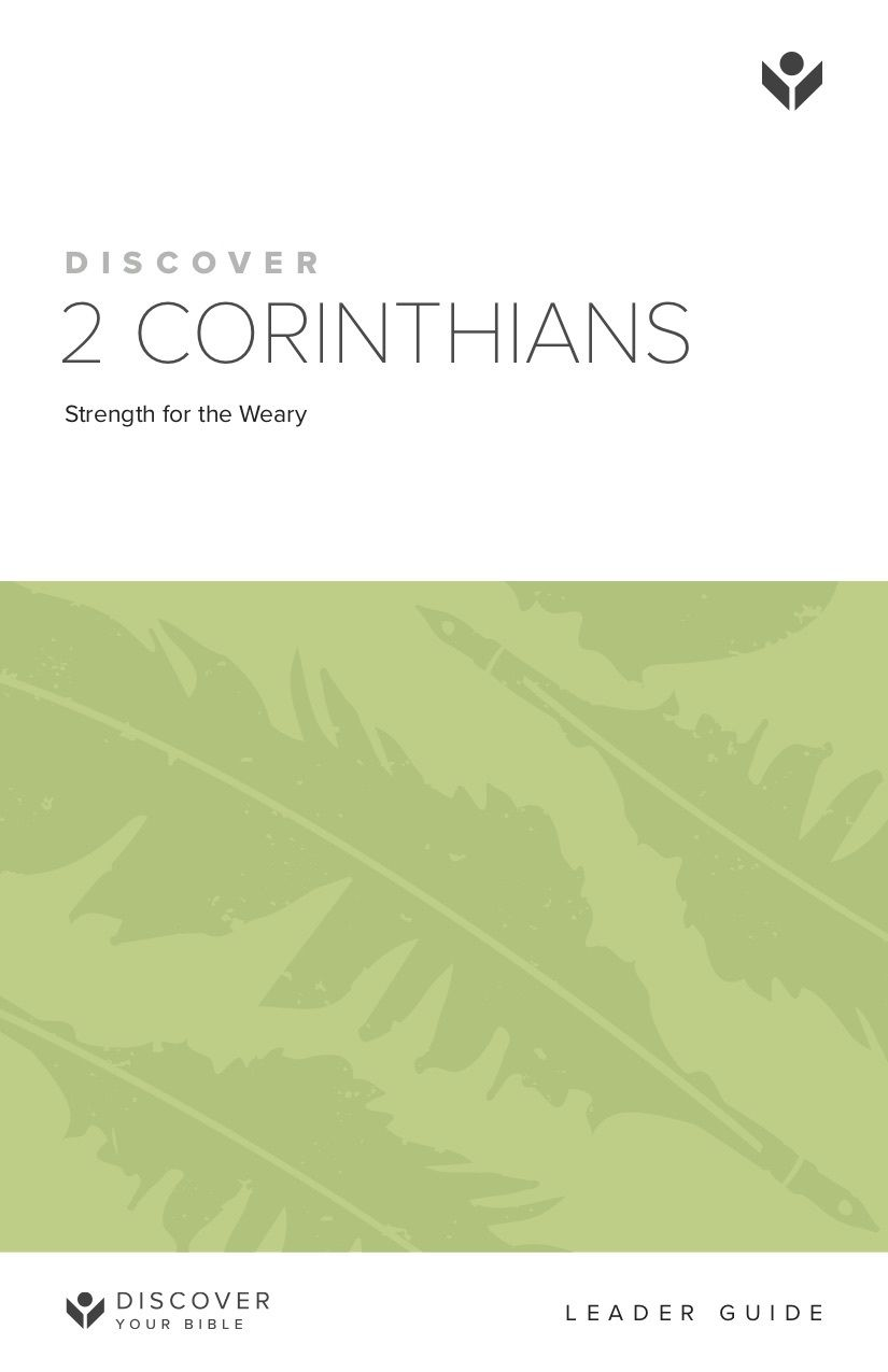 Discover 2 Corinthians Leader Guide cover image