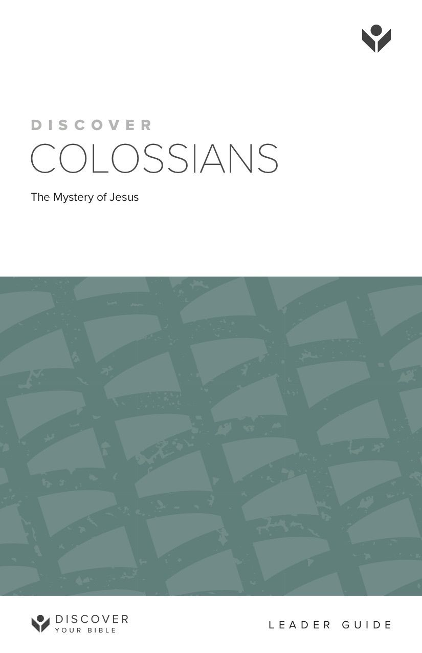 Discover Colossians Leader Guide cover image