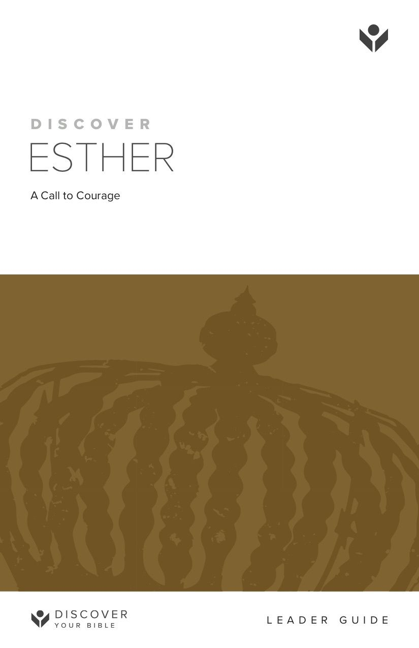 Discover Esther Leader Guide cover image