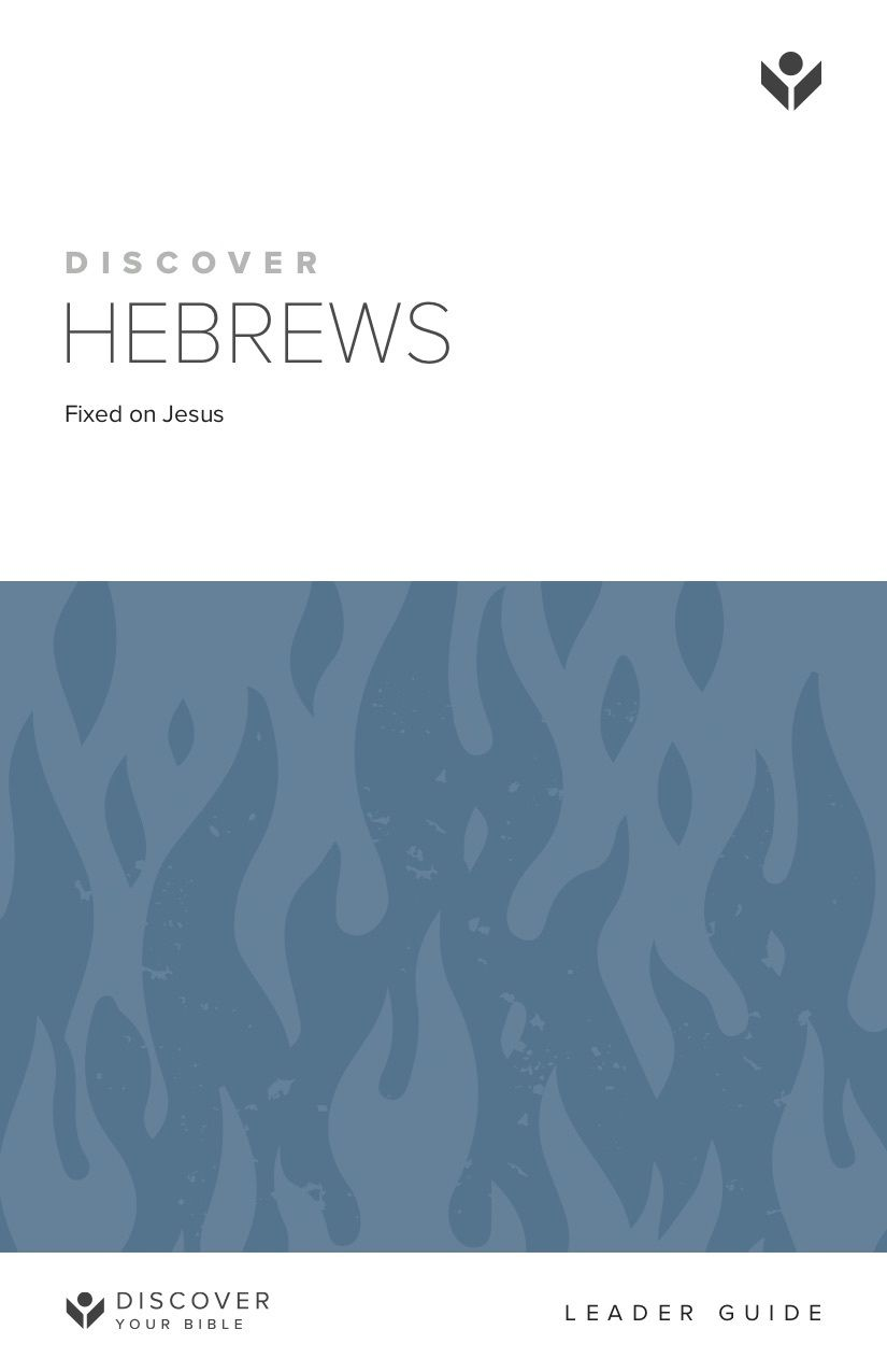 Discover Hebrews Leader Guide cover image