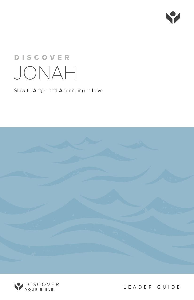 Discover Jonah Leader Guide cover image