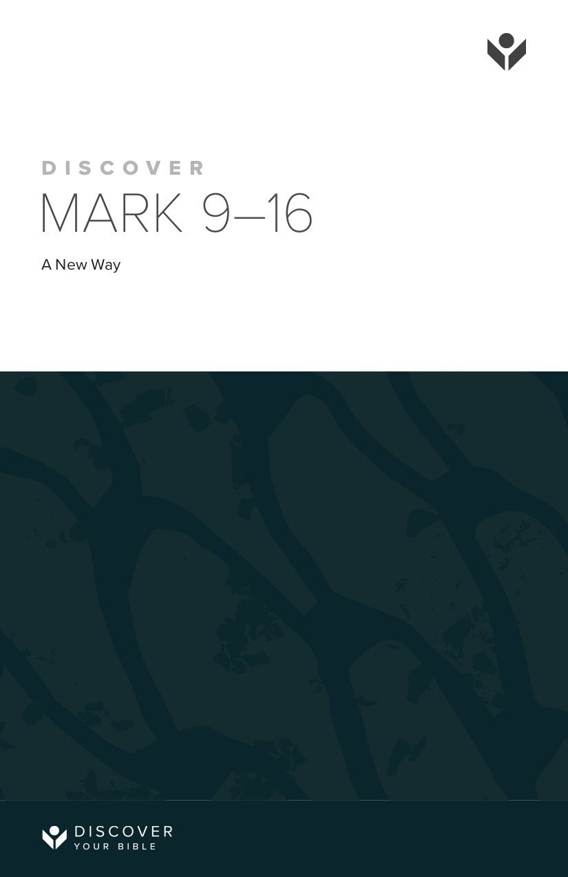 Discover Mark 9-16 Study Guide cover image
