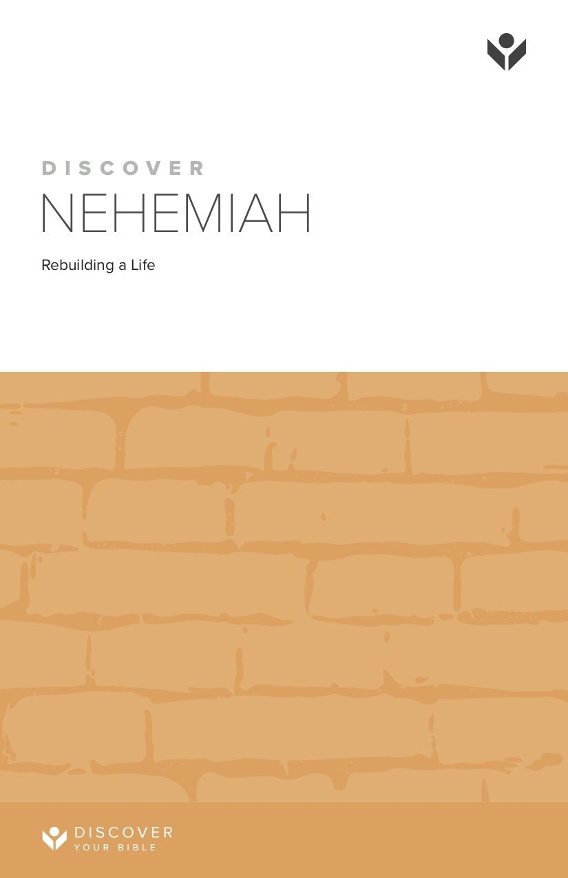 Discover Nehemiah Study Guide cover image