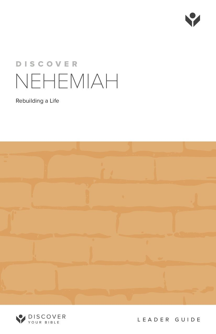 Discover Nehemiah Leader Guide cover image