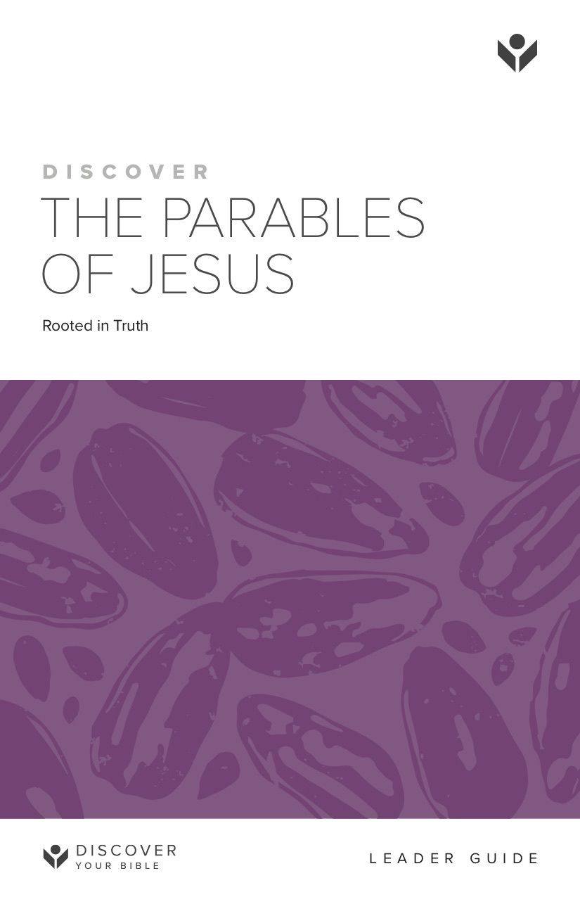 Discover the Parables of Jesus Leader Guide cover image
