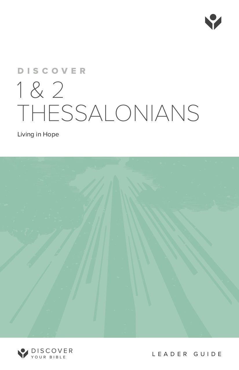 Discover 1 & 2 Thessalonians Leader Guide cover image
