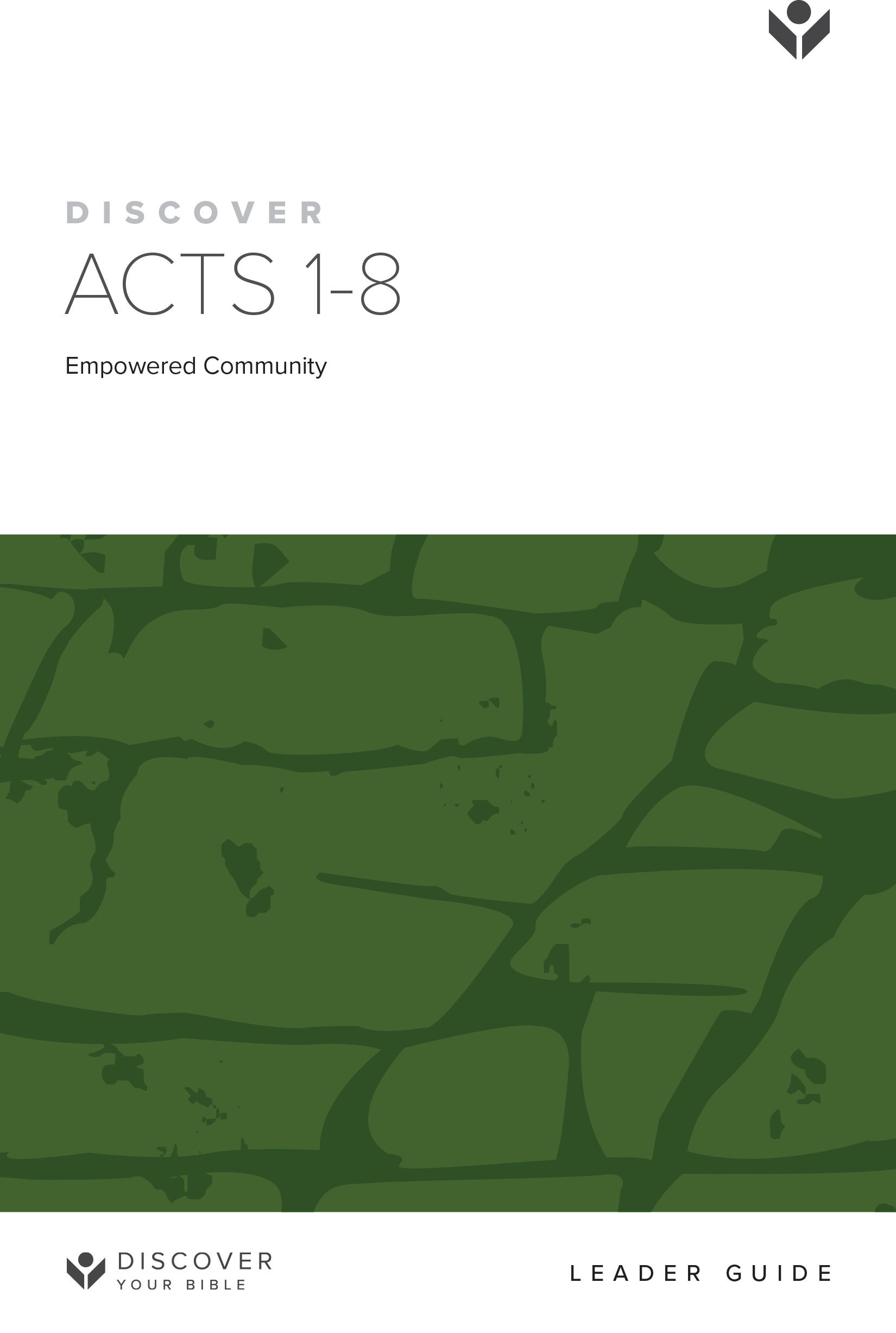 Discover Acts 1-8 Leader Guide cover image