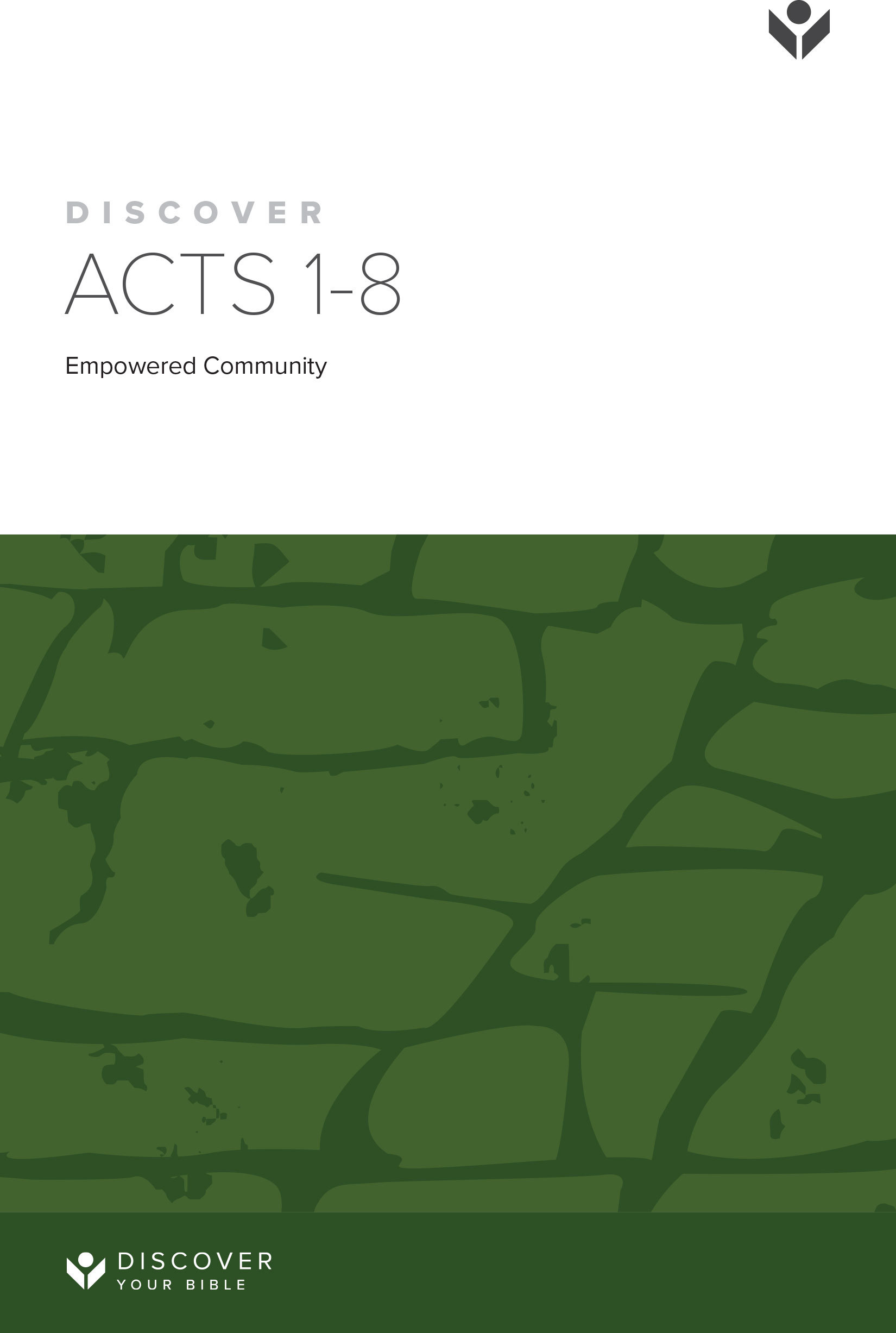 Discover Acts 1-8 Study Guide cover image