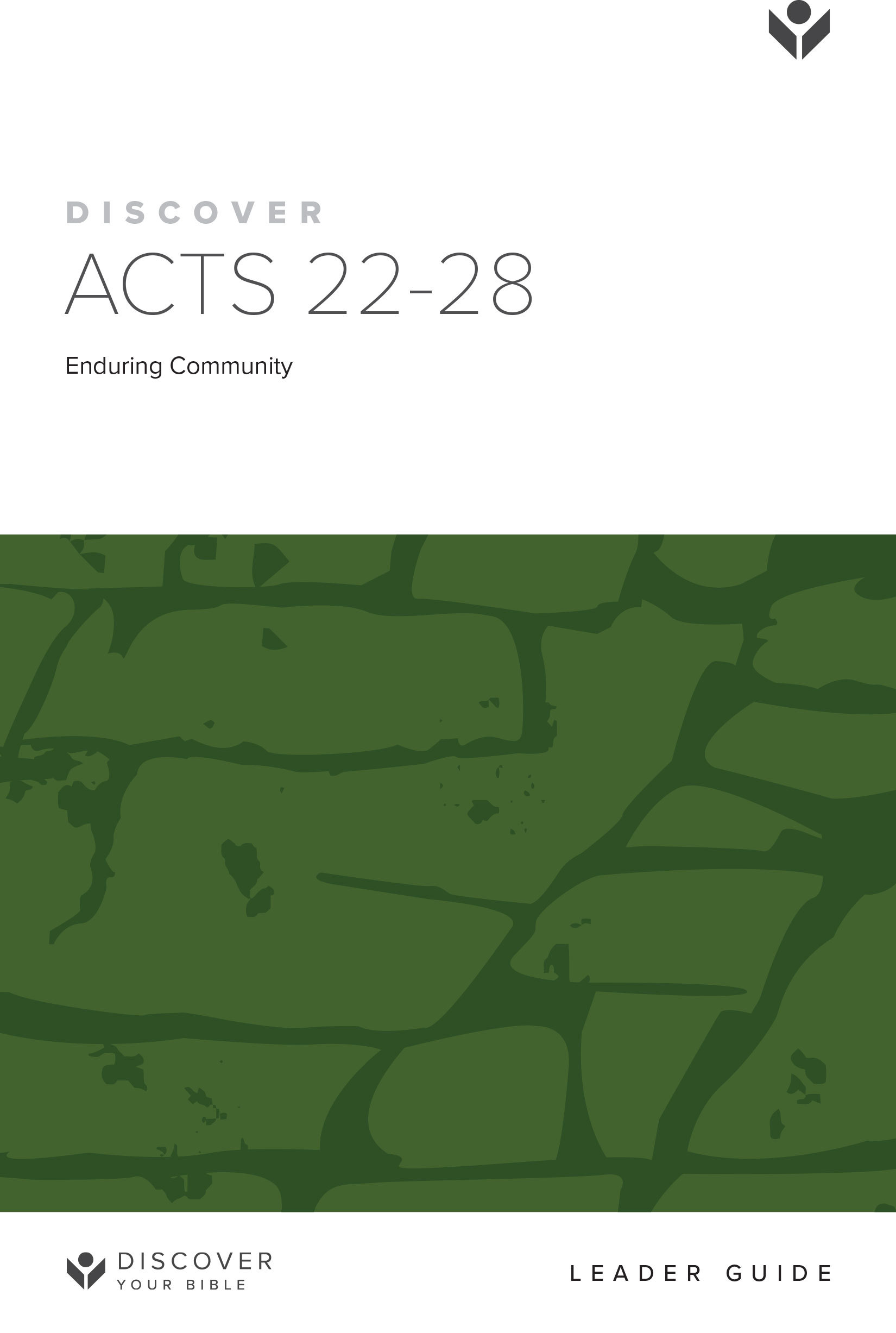 Discover Acts 22-28 Leader Guide cover image
