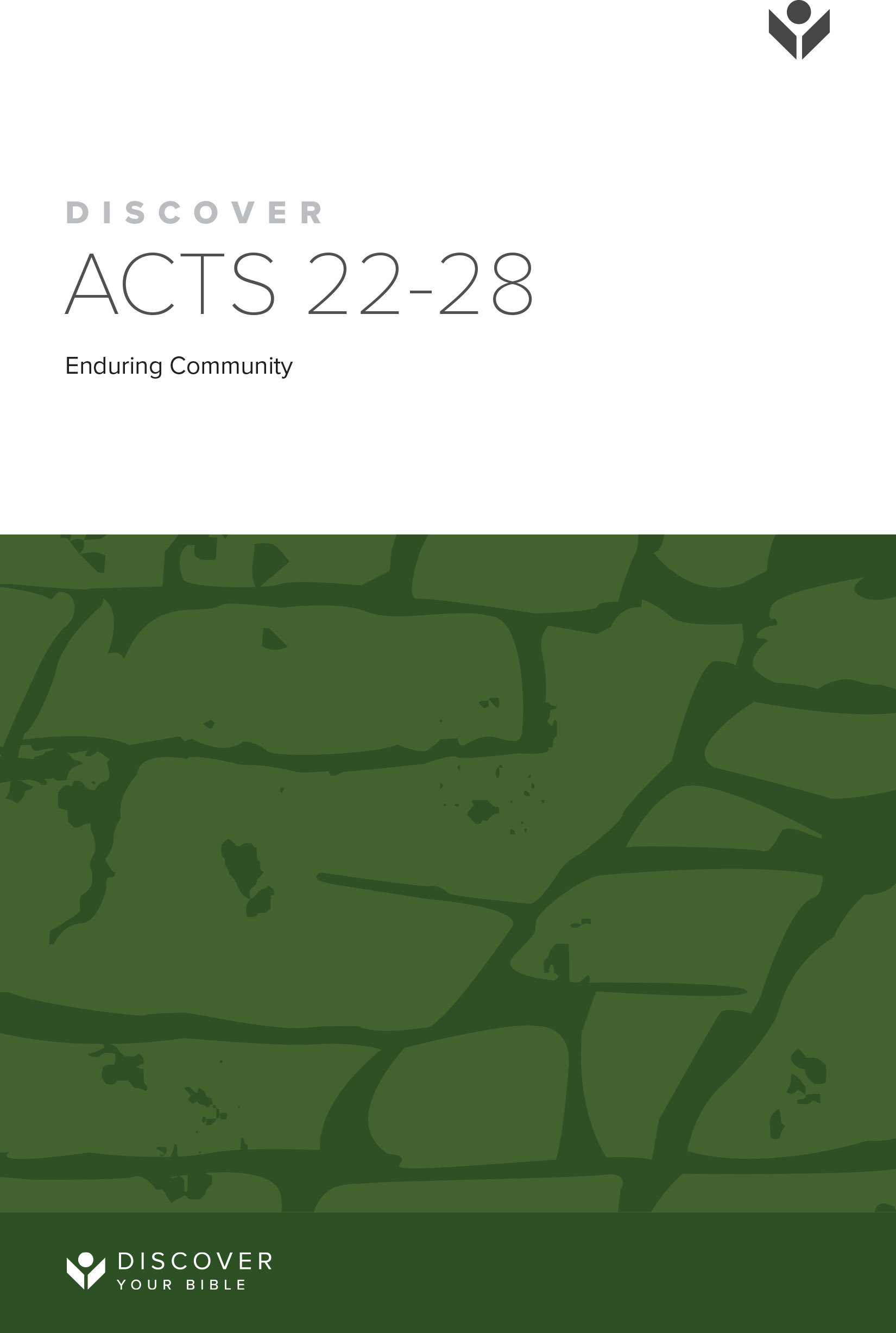 Discover Acts 22-28 Study Guide cover image
