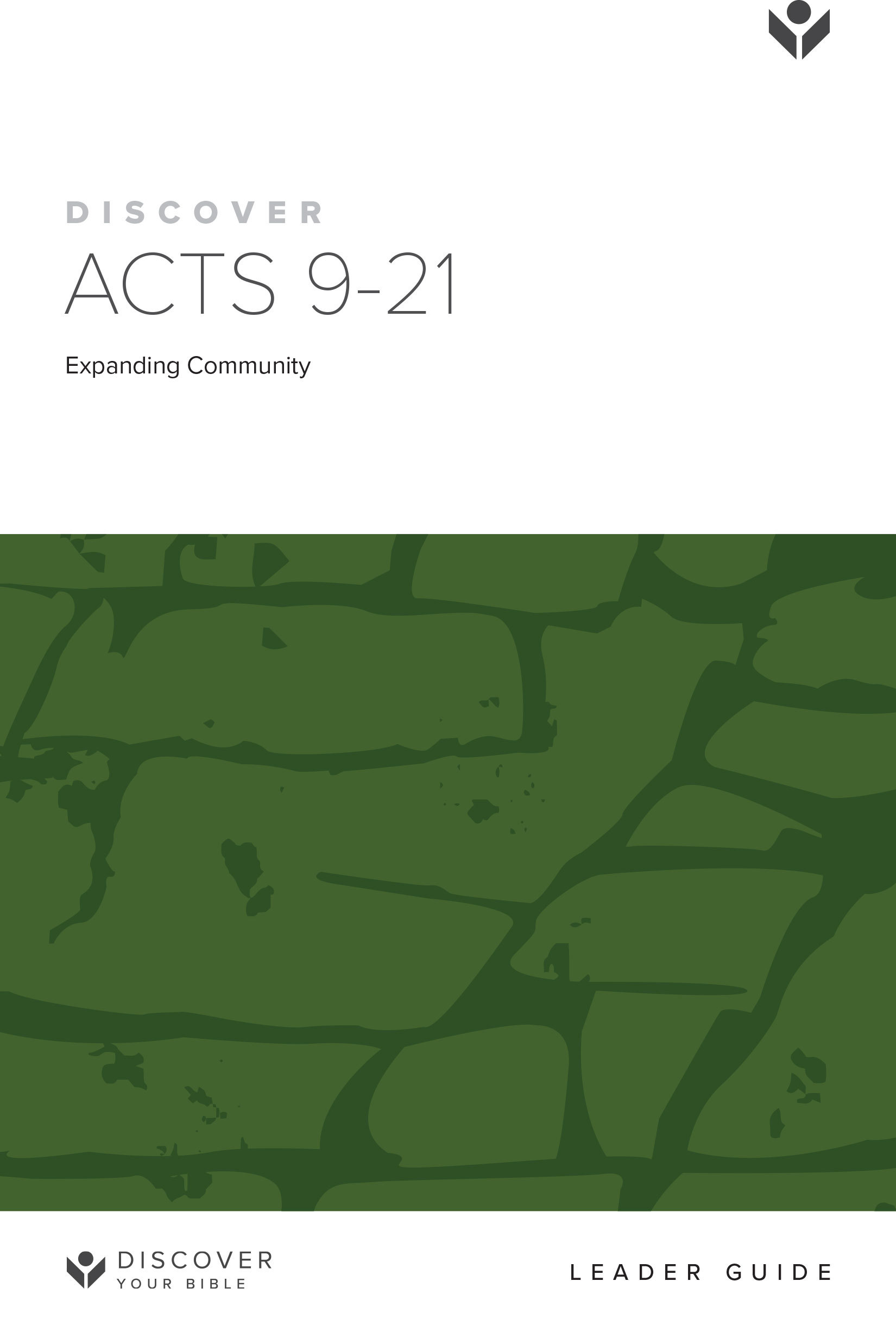 Discover Acts 9-21 Leader Guide cover image
