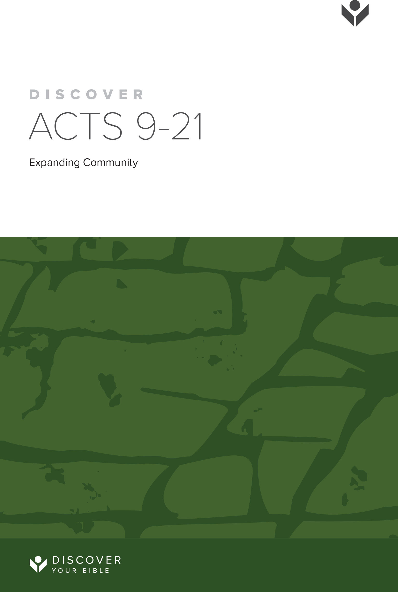 Discover Acts 9-21 Study Guide cover image